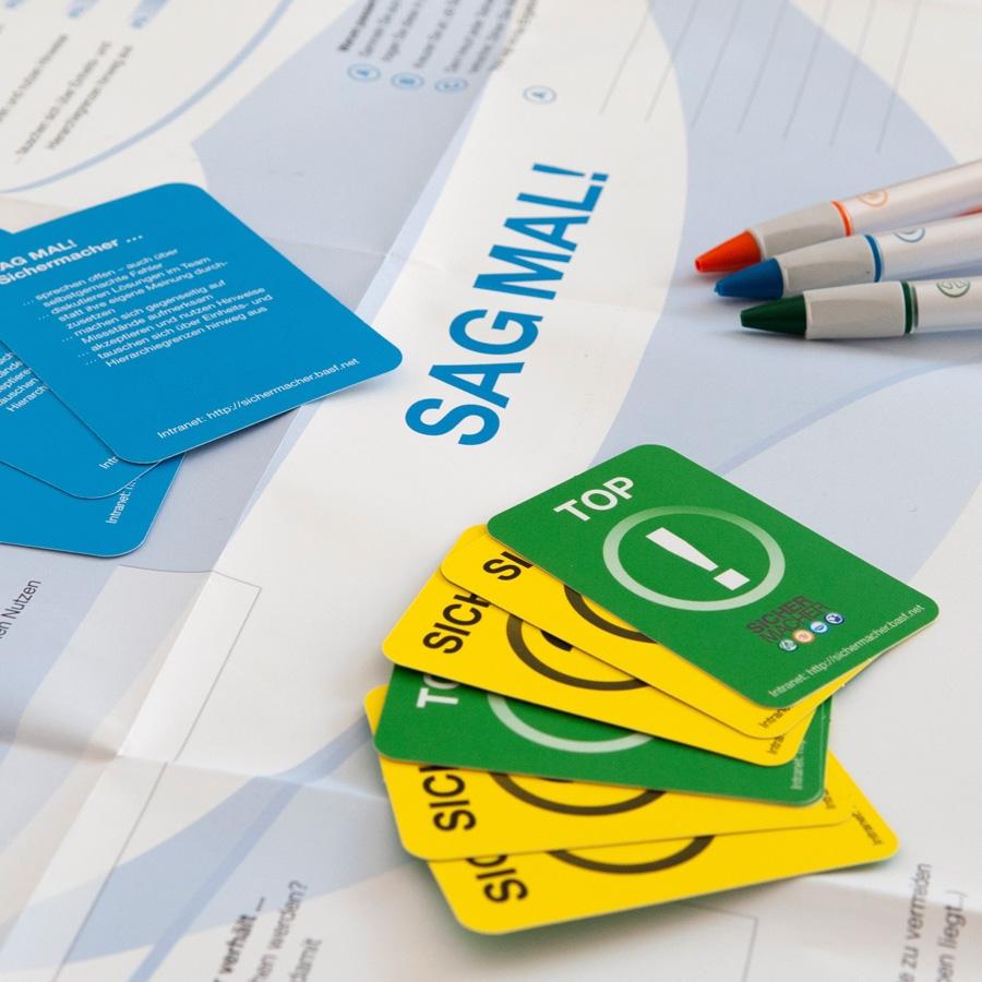 BASF: Workshop-Unterlagen für ein weltweites Change Management Projekt