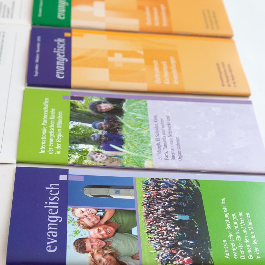 Evangelisch-Lutherisches Dekanat München, Mitgliederzeitung & Publikationen