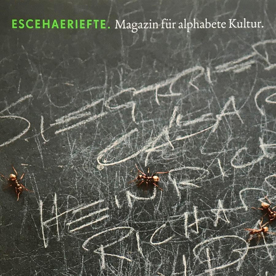 ESCEHAERIEFTE: Auszeichnung mit einem Diplom für Typografie und Design bei der Berliner Type