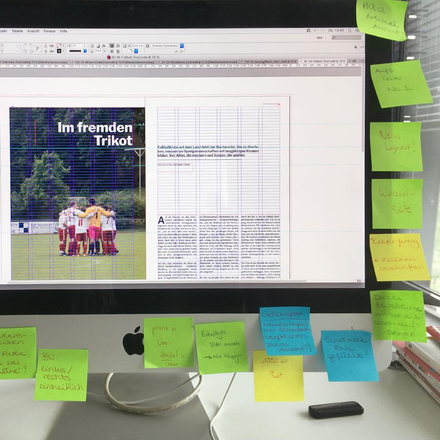 Work in progress an der Deutschen Journalistenschule