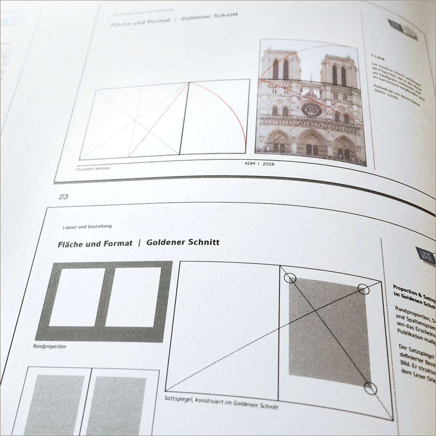 Seminar: Gestaltung kompakt, am DIZ Ingolstadt