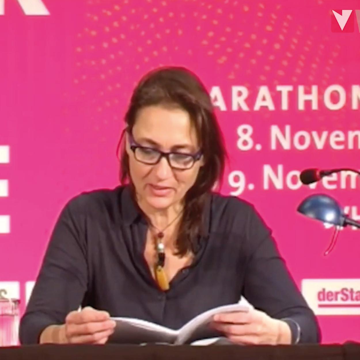 Marathonlesung, Design Elisabeth Wallner