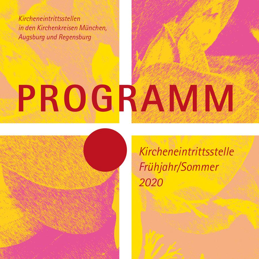 Programm Kircheneintrittsstelle, Design Elisabeth Wallner