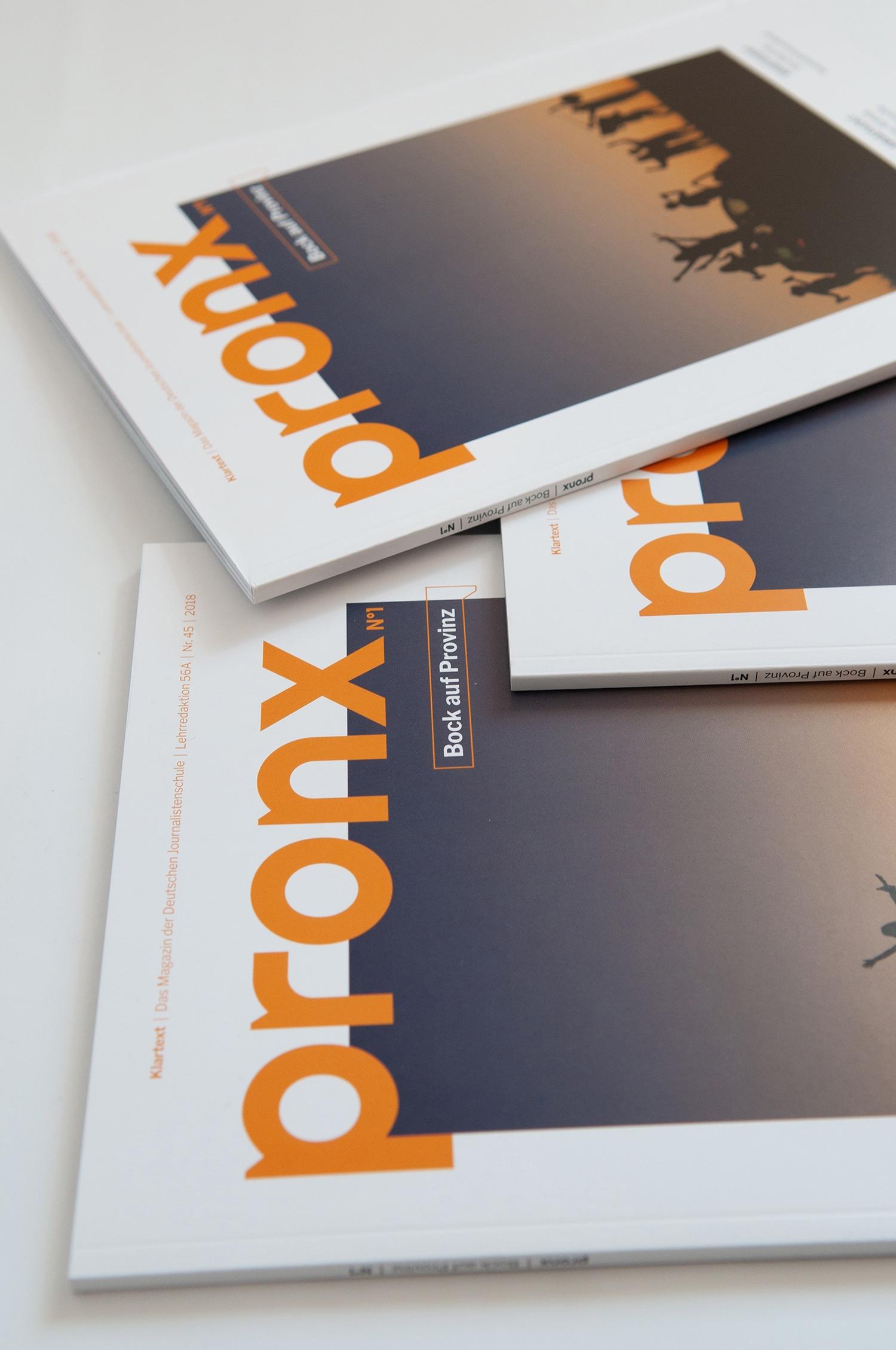 Klartext Magazin »pronx«, als Dozentin an der Deutschen Journalistenschule