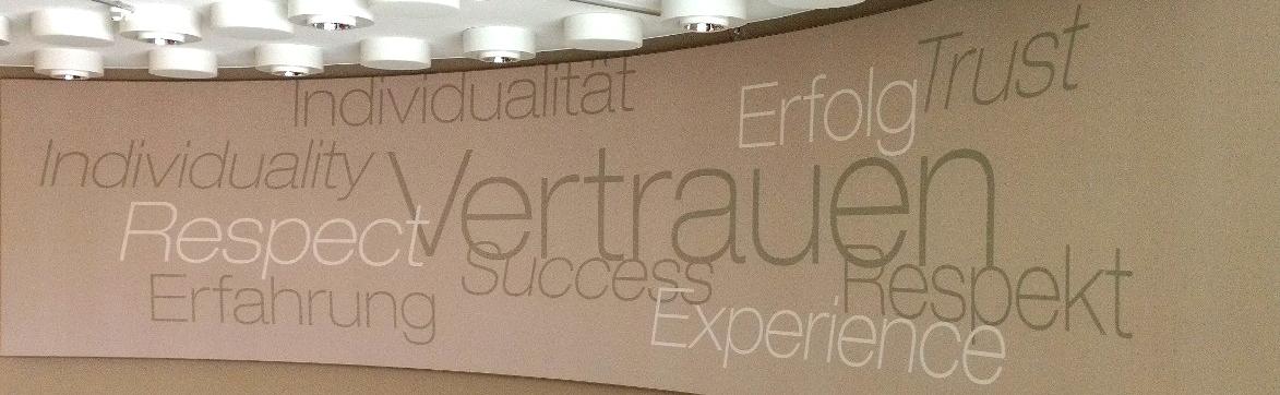 Jules Verne Campus: Typografische Gestaltung der Räumlichkeiten