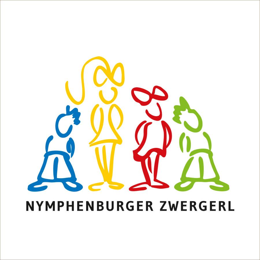 Nymphenburger Zwergerl, Kindergruppe: Logodesign