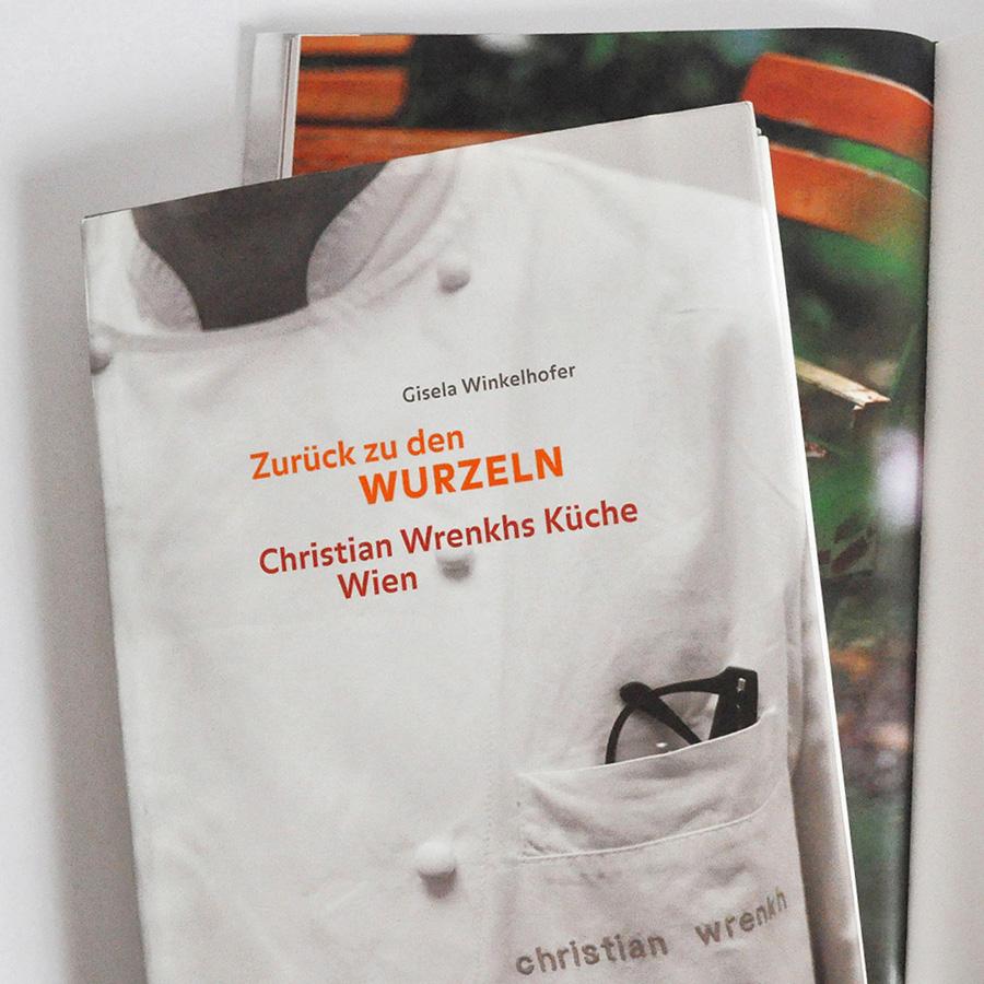 Kochbuch: Christian Wrenkhs Küche Wien, Designkonzept und Gestaltung